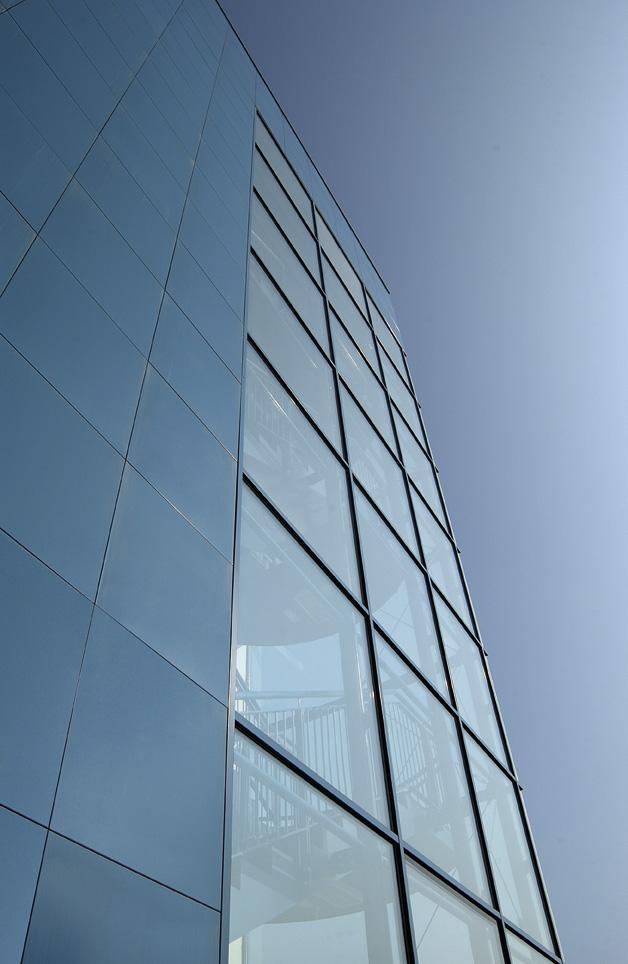 facciata infissi in alluminio
